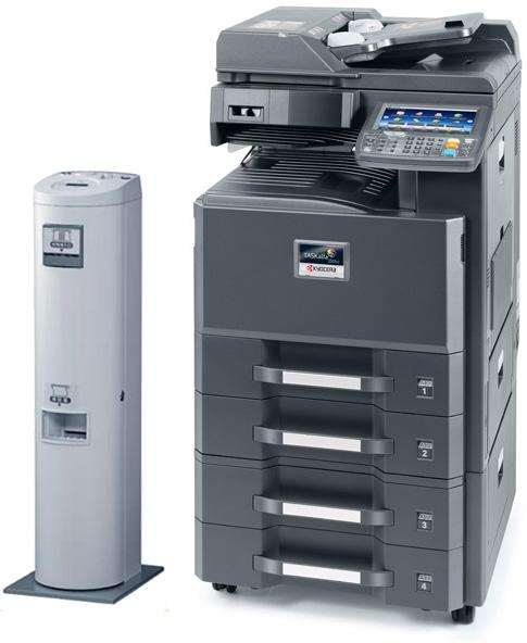 Kyocera(京セラ)TASKalfa 2551ci (コインベンダー)copy-machine