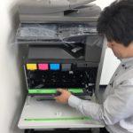 埼玉県(建築業)シャープMX-2517FN納品