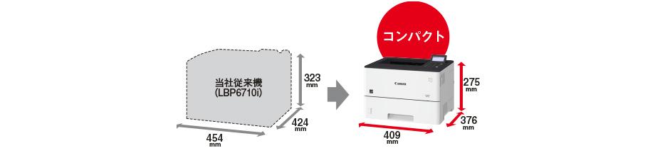 satera lbp312i-省スペース